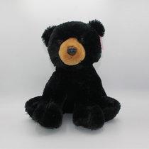 STUFFED BLACK BEAR LARGE AURORA