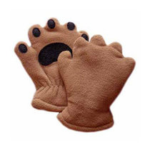 MITTENS BEAR (BLUE, PINK, BROWN) SIZES INFANT-YOUTH