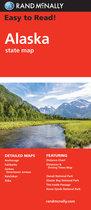 MAP ALASKA EASY TO READ RAND MCNALLY